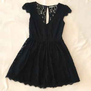 Urban Outfitters | Kimchi Blue | Black Lace Dress